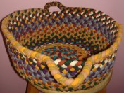 "Basket 15"" by 6-1/4"" high, $45 SOLD"