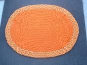 Orange Oval 2 x 3 SOLD
