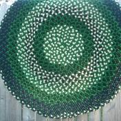 """Round Green 36"""" SOLD"""